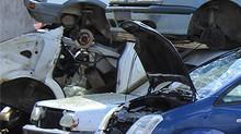 Enlèvement d'épaves auto à Marseille.