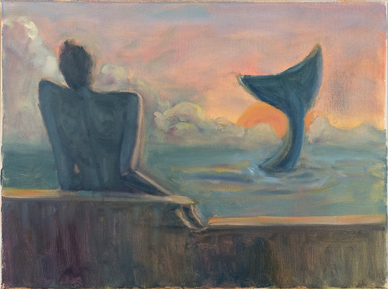 Watching the whale