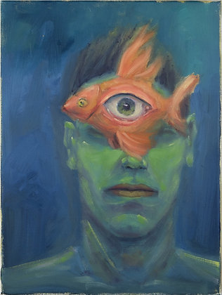 Third eye / Goldfish
