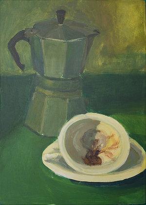 Ulitma gota del cafe