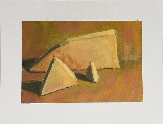 Still life with triangles