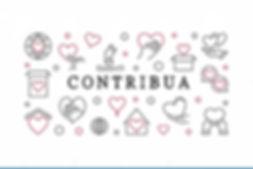 contribua-ilustração-horizontal-simples-