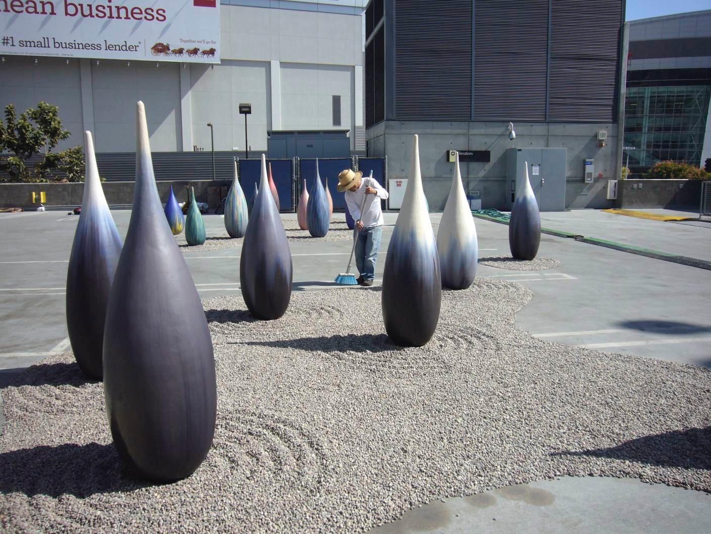 installation at Pause Artfair