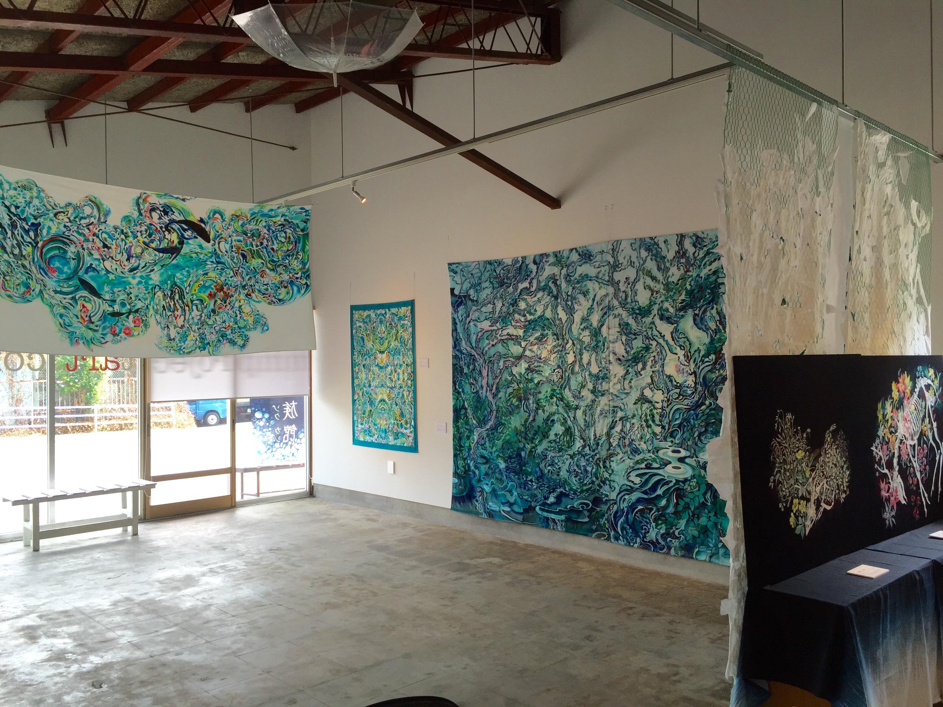 Ayaka Umeda- installation8