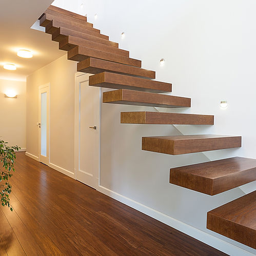 Inspirations Paint CQ Wooden Staircase