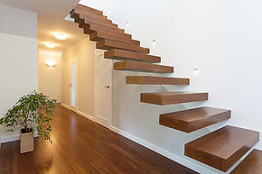 Bespoke wooden staircase joinery