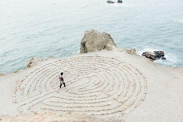 labyrinth walking peace