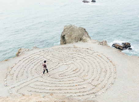 Honoring Cancer Milestones with a Labyrinth Walk