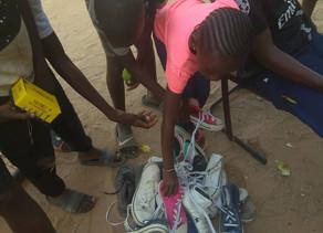 Schoenen uitzoeken :)
