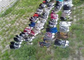 Schone schoenen voor Gambia