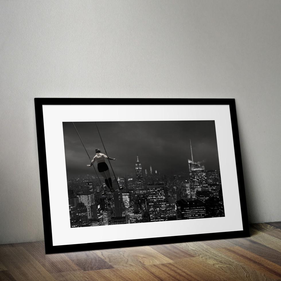 Flying above New York ;-)