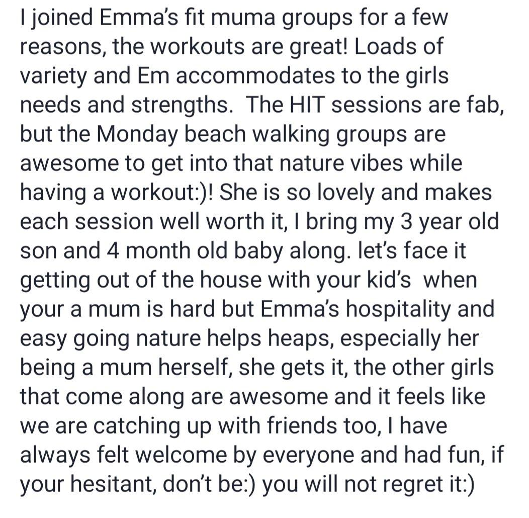 testimonial Amy