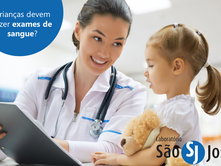 Crianças devem fazer exame de sangue?