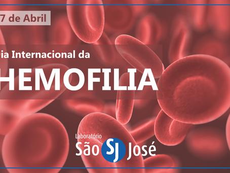 17 DE ABRIL, DIA INTERNACIONAL DA HEMOFILIA!