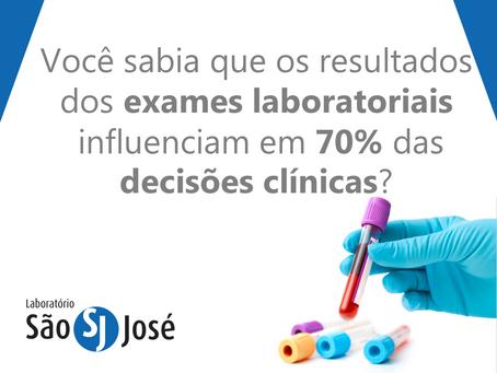 Importância dos exames laboratoriais nas decisões médicas
