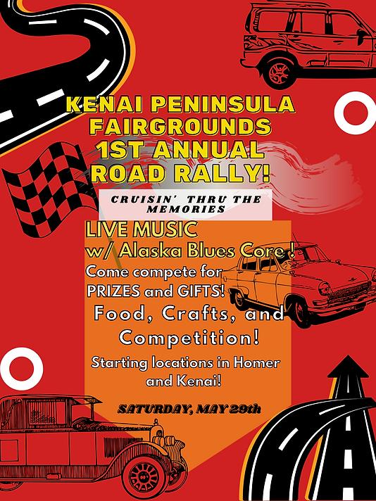 Kenai Peninsula Fair's 1st annual Car Ra
