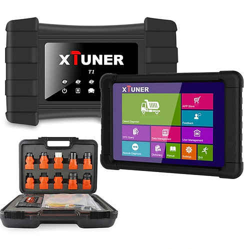 VPecker Xtuner T1 Heavy Duty Truck Diagnosis