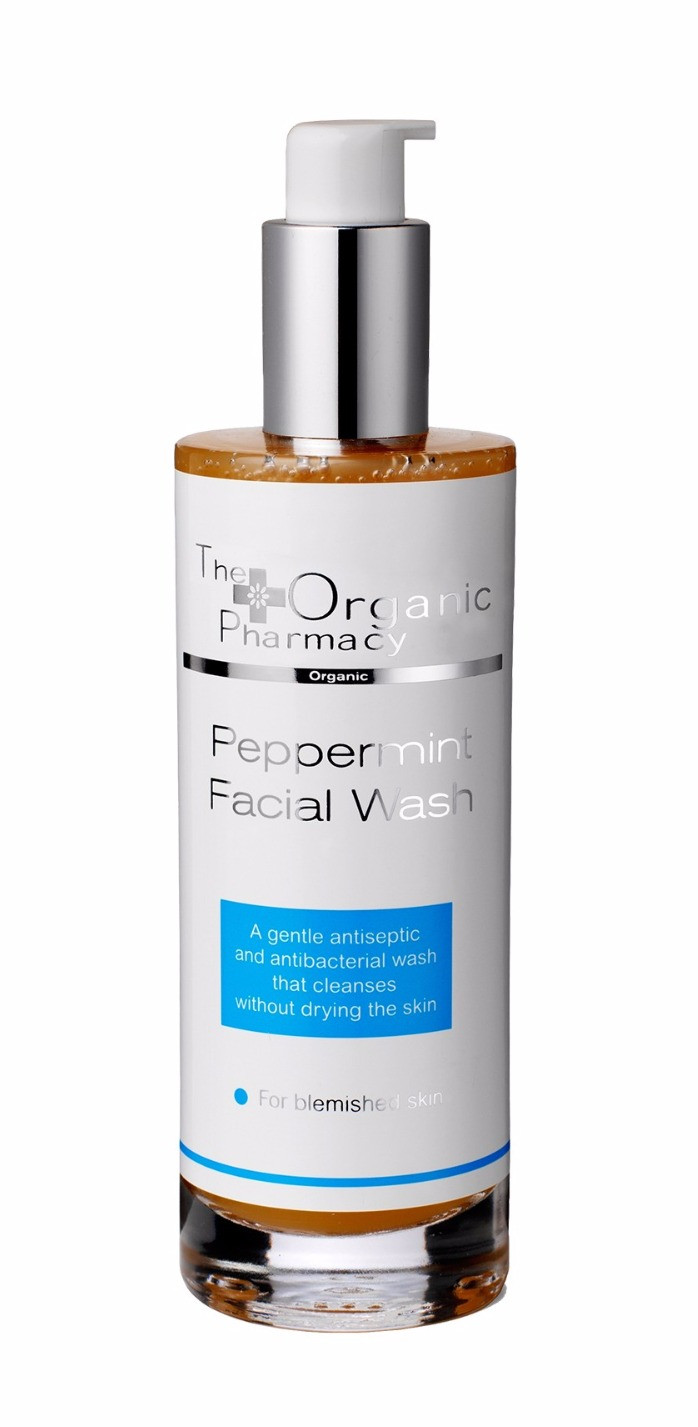 Organic Pharmacy Peppermint Facial Cleanser