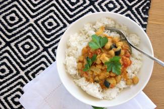 Kichererbsen Curry mit Bockshornklee