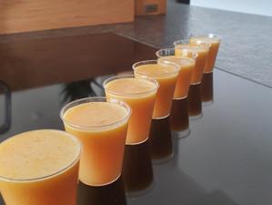 Ingwer-Zitronen-Shots