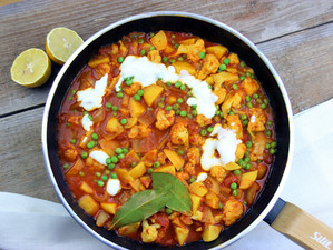 Aloo Gobi - indisches Curry