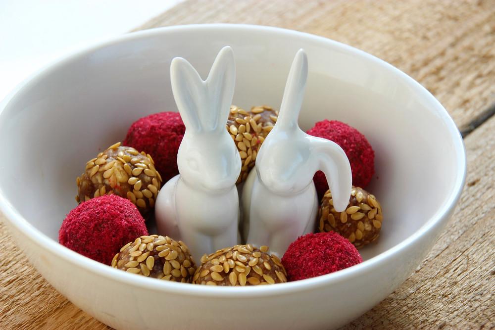Energiebällchen Ostern