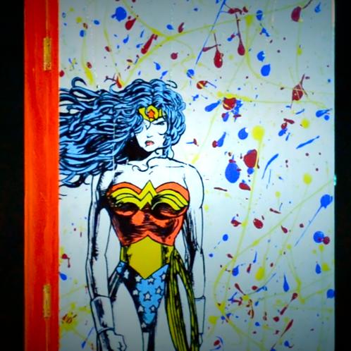Wonder Woman Splatter