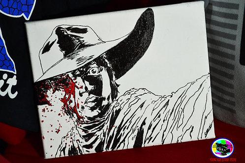 Walking Dead Carl Canvas
