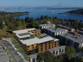 Bainbridge Landing adds housing, small park near the ferry terminal