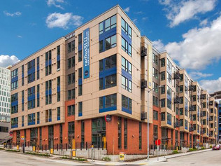 Located at the heart of Seattle's thriving South Lake Union district, the Elan at South Lake Union is a 282 unit apartment project consisting of five-story wood frame construction. The type IA building consists of grade related residential and two-story below grade parking. Amenities include roof-deck, green roof, and pet area.   Owner: Greystar Architect: Weber Thompson