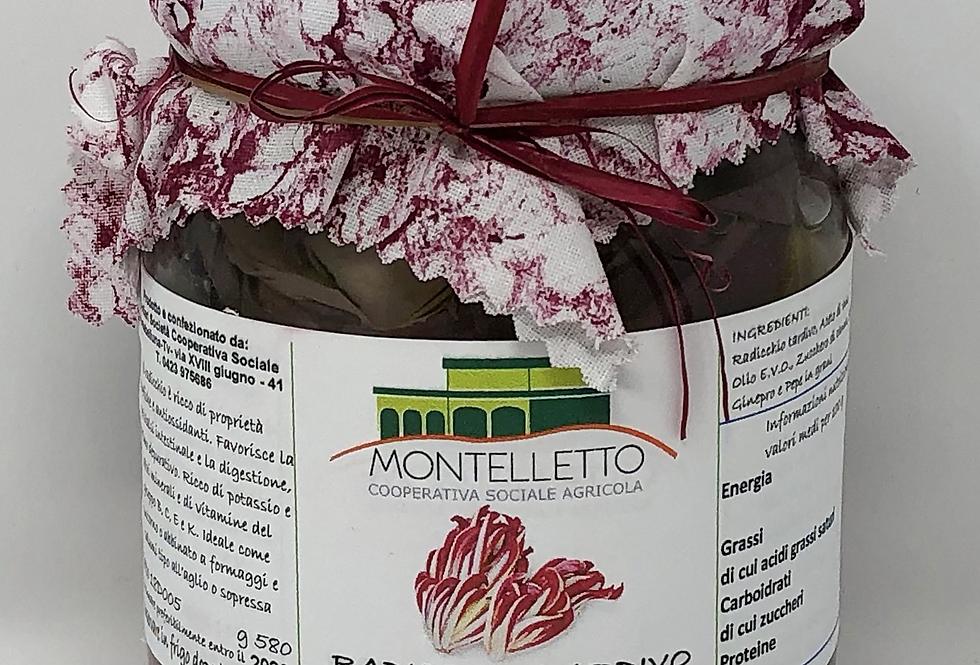 RADICCHIO TARDIVO IN AGRODOLCE 500 g