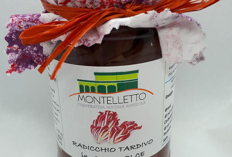 RADICCHIO TARDIVO IN AGRODOLCE 280 g