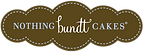 Logo for Nothing Bundt Cakes, where outline is in the shape of a loaf.