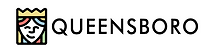 Logo for Queensboro featuring illustration of female face wearing crown