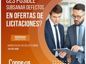 Nuevo Webinar Costa Rica: ¿Es posible subsanar defectos en ofertas de licitaciones?