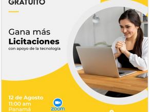Vídeo Webinar Panamá - Gana más licitaciones con apoyo de la Tecnología