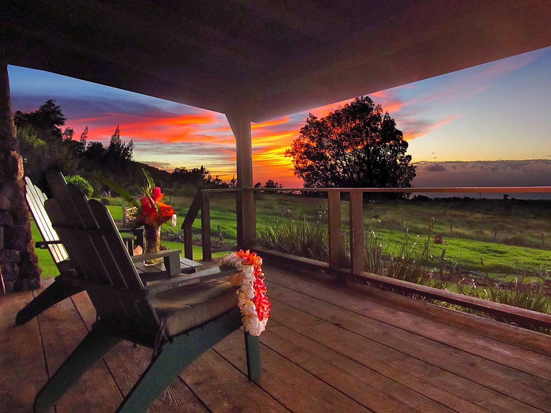 Sunset at Kohala Lodge