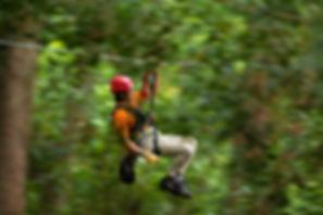 Zip-line Kohala Eco activity