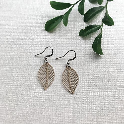 Beige Leaf Style