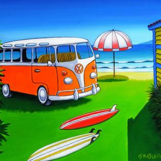 beach house kombi