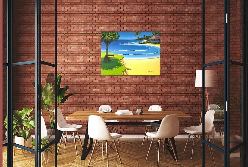 summer days - 100 x 75cm