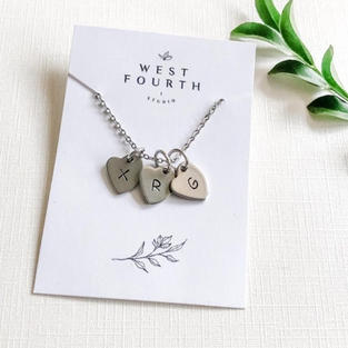 Stainless Steel Hand Stamped Necklaces