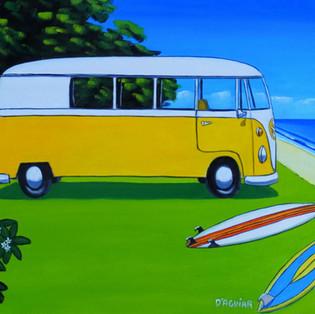 the beach kombi