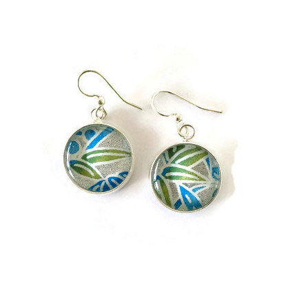 silvers with green and blue leaves