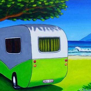 the green caravan