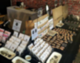 West 4th Studio, handmade jewellery at Eumundi Markets selling earrings, pendants, necklaces, hand stamped jewellery