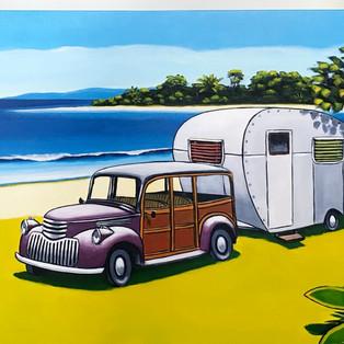 woody and the van