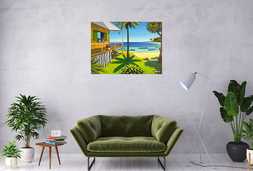 holiday time - 100 x 75cm