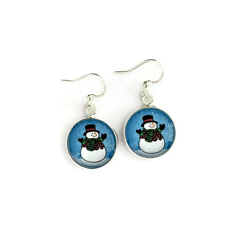 """Christmas Theme Earrings 003"""