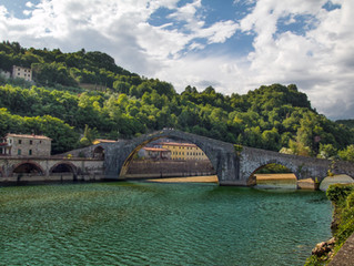 Toskania  - cz. III - Diabelski Most